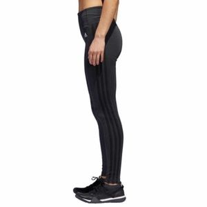 Adidas Climalite Stripe Black Leggings